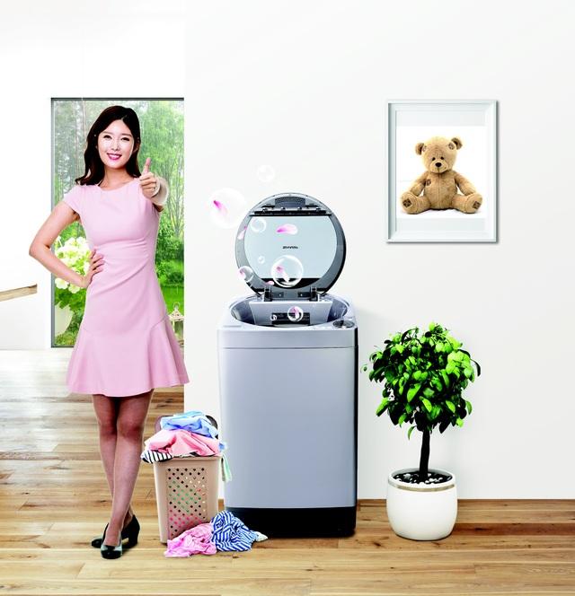Lồng giặt không lỗ tiết kiệm nước, tiết kiệm tiền, tiết kiệm thời gian.