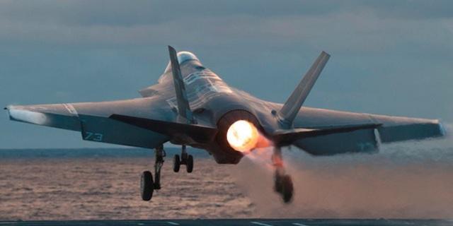 Máy bay F-35C của Mỹ (Ảnh: Lockheed Martin)