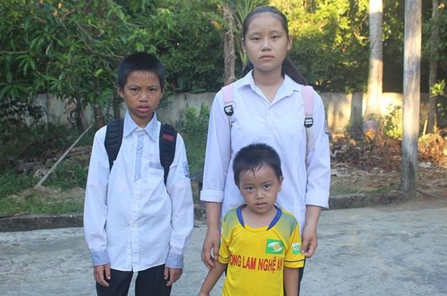 Chị em Thương đã sẵn sàng chào đón năm học mới với nhiều hi vọng.