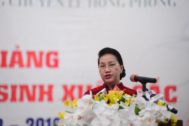 Bà Ngân đánh giá cao những mạnh dạn đổi mới của TPHCM
