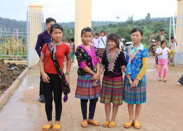 Học sinh Đắk Nông háo hức ngày khai giảng