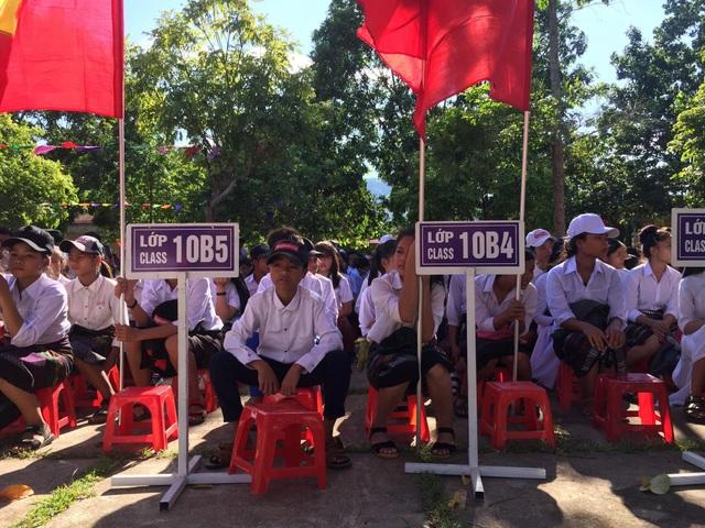 Trường THPT Đakrông có đa số học sinh người Pa Kô, Vân Kiều