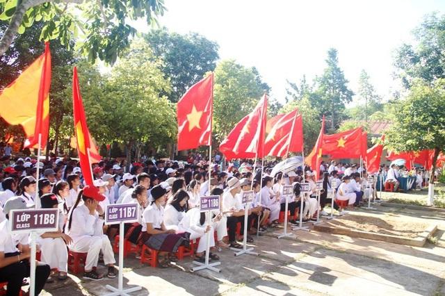 Không khí khai giảng tại trường THPT Đakrông