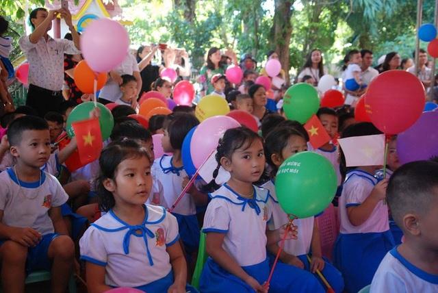 Lễ khai giảng tại trường Mầm non Sao Mai - TP Đông Hà