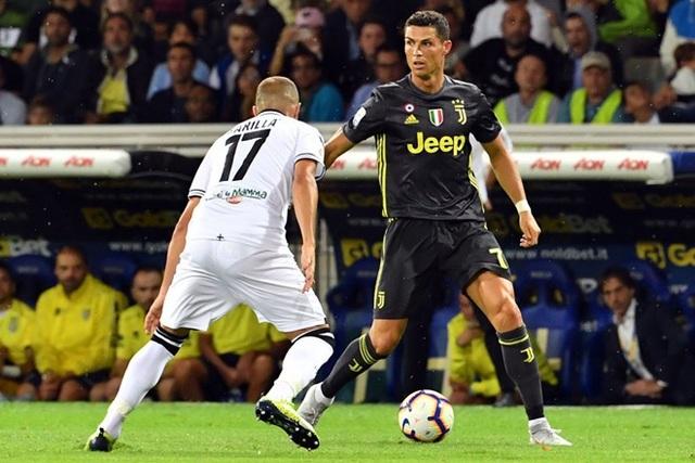 C.Ronaldo gặp khó trong giai đoạn đầu ở Serie A