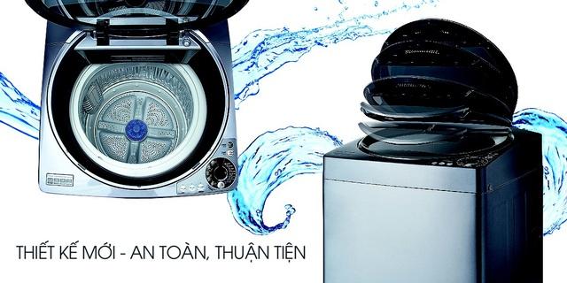 Mẹo tiết kiệm nước khi giặt máy trong mùa mưa - 4
