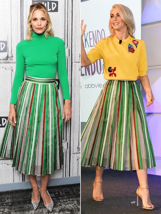 LESLIE BIBB & JULIANNE HOUGH rất trẻ trung trong bộ váy của Vika Gazinskaya