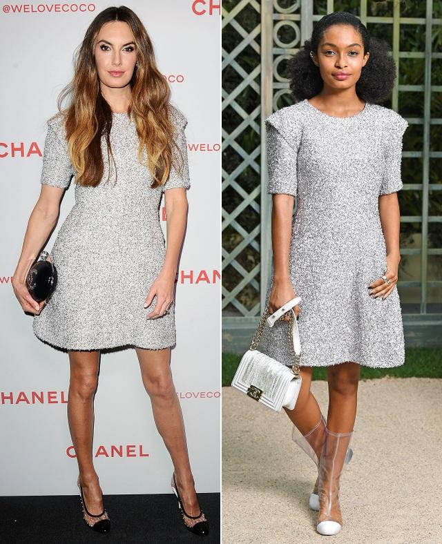 ELIZABETH CHAMBERS & YARA SHAHIDI là fans của bộ váy Chanel sang trọng này
