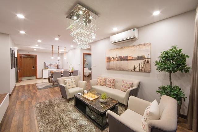 TNR Sky Park được thiết kế thông minh từ căn hộ cho tới tổng thể hệ thống cảnh quan
