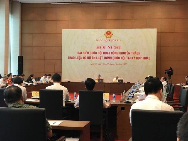 Lãnh đạo Quốc hội dành trọn ngày 6/9 hội nghị đại biểu Quốc hội hoạt động chuyên trách để thảo luận về dự luật Phòng chống tham nhũng (sửa đổi)