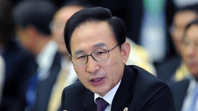 Cựu Tổng thống Lee Myung-bak (Ảnh: AFP)