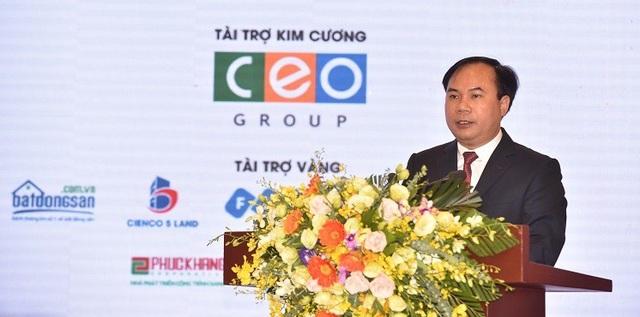 Ông Nguyễn Văn Sinh - Thứ trưởng Bộ Xây dựng.
