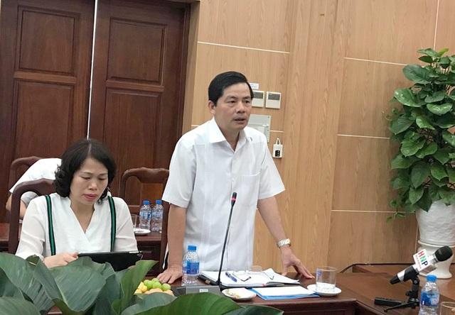 Ông Trần Huy Sáng - Giám đốc Sở Nội vụ Hà Nội