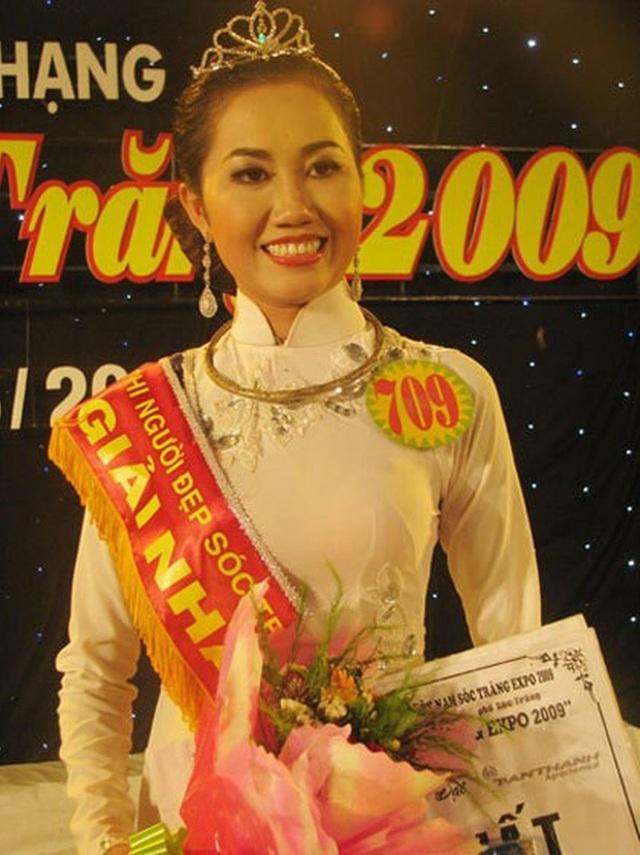 Người đẹp Sóc Trăng đăng quang - Võ Thị Mỹ Xuân đăng quang hoa hậu Nam Mê Kông 2009