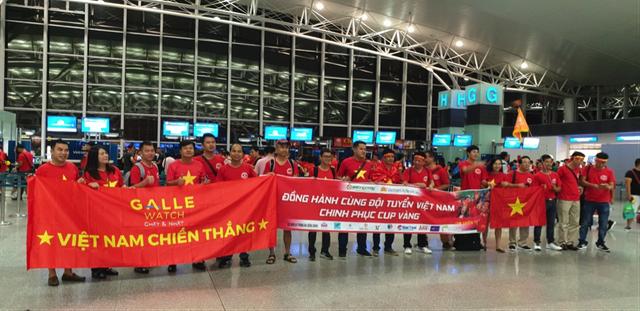 Đoàn Galle Watch sang Indonesia cổ vũ cho đội tuyển Olympic Việt Nam