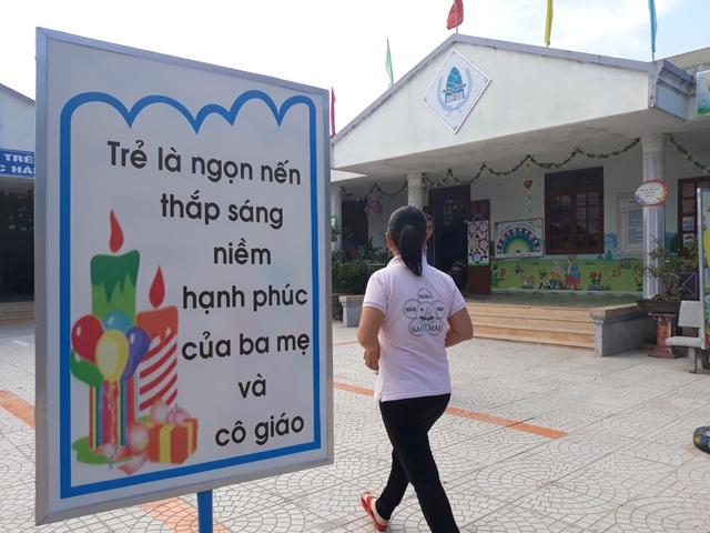 Trường Mầm non Sao Mai, nơi xảy ra vụ việc.