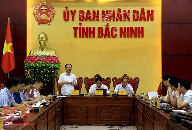 Sông Cầu giãy chết, tỉnh Bắc Giang, Bắc Ninh và Tổng cục Môi trường họp bàn ra sao? - Ảnh 1.