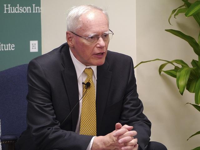 Cố vấn đặc biệt của Ngoại trưởng Mỹ về tình hình Syria Jim Jeffrey (Ảnh: Hudson Institute)