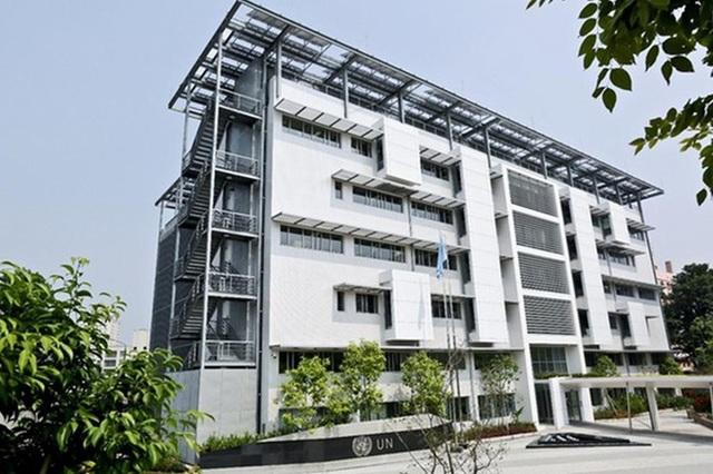 Ngôi nhà Xanh LHQ tại Việt Nam (Ảnh: Liên Hợp Quốc)