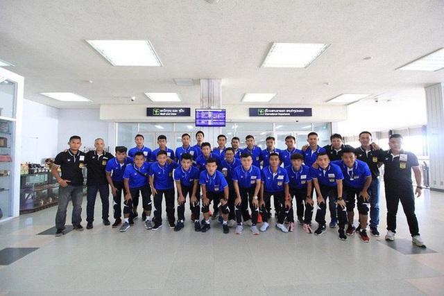 Đội tuyển Lào lên đường sang Barcelona để tập huấn trước thềm AFF Cup 2018
