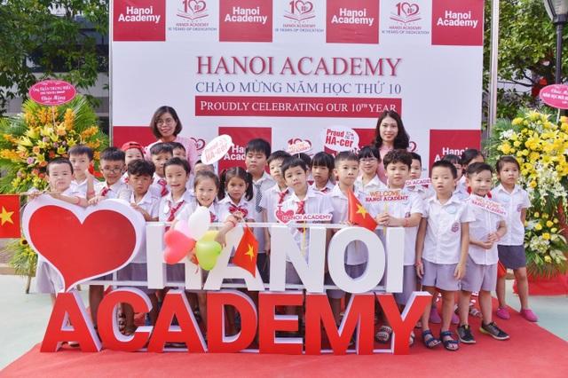 """Lễ khai giảng """"đặc biệt"""" của Trường Hanoi Academy - 1"""