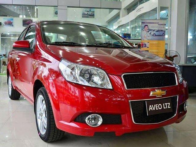 Mẫu sedan hạng B Chevrolet Aveo khi giảm giá bán tới 80 triệu đồng.