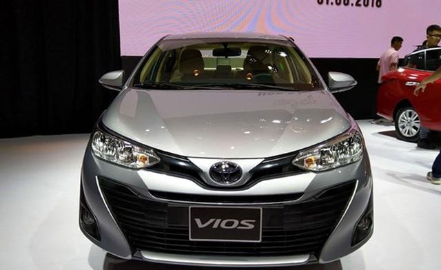 Toyota Vios tăng giá từ 18-41 triệu đồng so với phiên bản cũ.