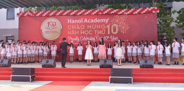 """Lễ khai giảng """"đặc biệt"""" của Trường Hanoi Academy - 4"""