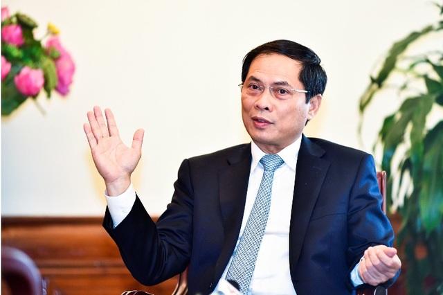 Thứ trưởng Bộ Ngoại giao Bùi Thanh Sơn - Trưởng ban Tổ chức WEF ASEAN 2018