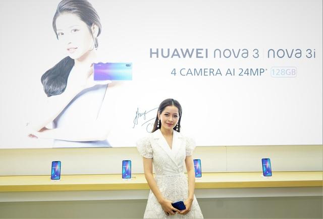 Chipu là đại sứ thương hiệu Huawei nova.
