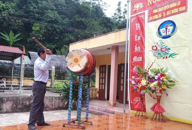 Tiếng trống khai giảng năm học mới đã vang lên nơi xã vùng biên Mường Chanh