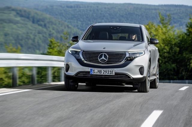 Mercedes-Benz EQC - Phiên bản chạy điện của GLC - 1