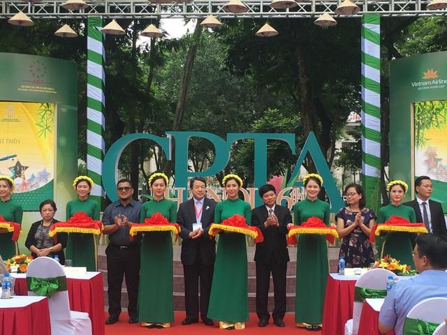 Triển lãm là một trong những hoạt động bên lề quan trọng của Hội nghị Thượng đỉnh CPTA lần thứ 16
