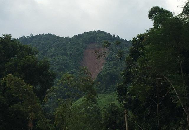 Tình trạng sạt lở núi xảy ra nghiêm trọng tại nhiều bản làng của huyện Mường Lát
