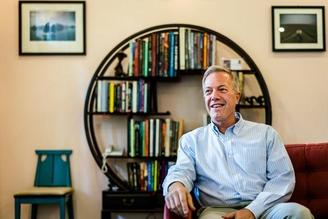Cựu Đại sứ Mỹ tại Việt Nam Ted Osius (Ảnh: New York Times)