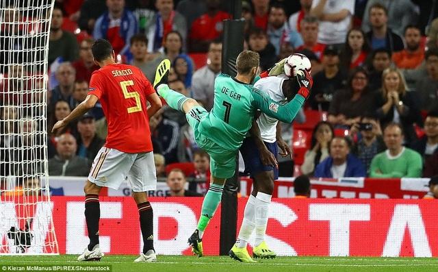 Thủ môn De Gea có rất nhiều pha cứu thua xuất sắc ở trận đấu này