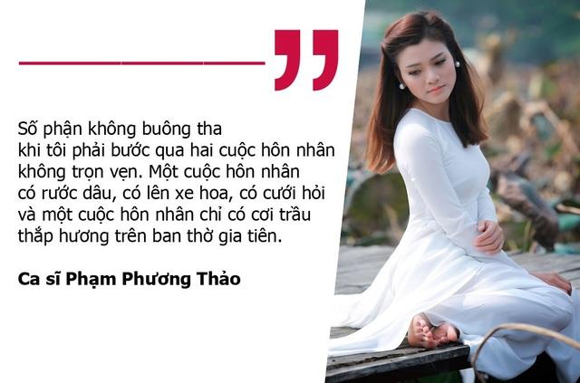 """Qua hai lần đổ vỡ, Phạm Phương Thảo dự cảm """"lần đò"""" thứ 3 sẽ rất kinh hoàng"""
