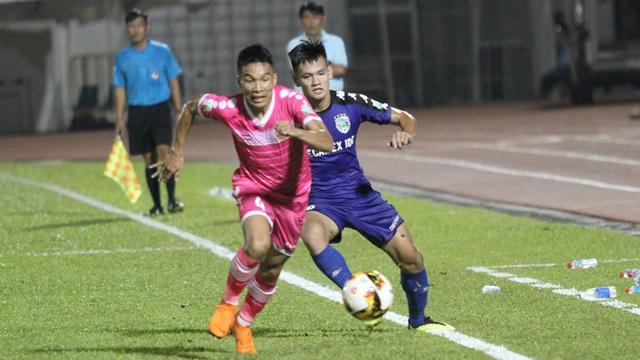 V-League 2018 chỉ còn cuộc đua giành quyền trụ hạng của nhóm cuối là căng thẳng (ảnh: Trọng Vũ)