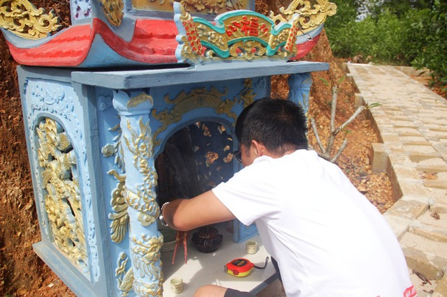 Khuôn viên chôn cất thai nhi, nơi các chàng trai trẻ dồn tâm sức để làm thiện nguyện