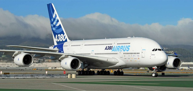 Máy bay Airbus A380. (Ảnh: Airbus)