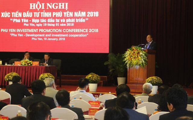 Hội nghị xúc tiến đầu tư năm 2018 của tỉnh Phú Yên