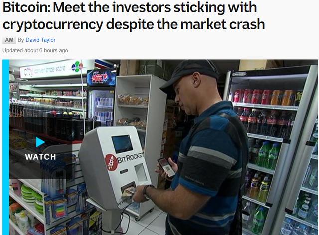 Tờ ABC trích dẫn nhiều nhà đầu tư vẫn tin tưởng vào tương lai thị trường tiền ảo.