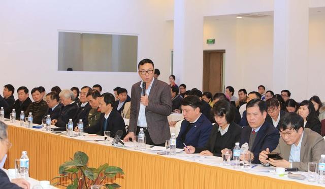 Phó Chủ tịch VFF Trần Quốc Tuấn - Ảnh: Gia Hưng