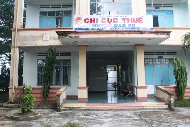 Chi cục Thuế huyện Đak Pơ
