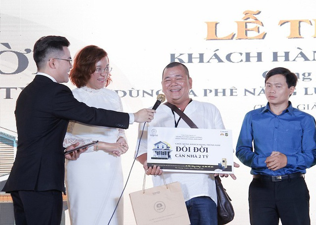 Anh Hà Thanh Tùng - chủ nhân của căn hộ trị giá 2 tỷ đồng