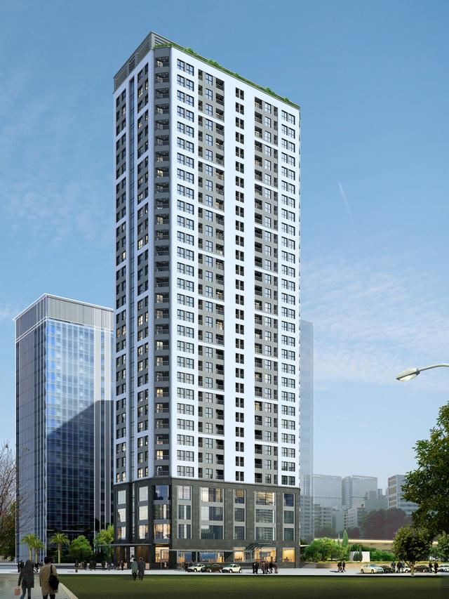 Phối cảnh tổng thể dự án Vinata Tower