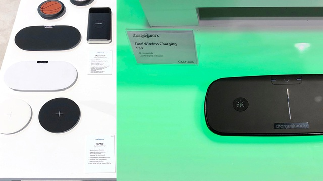 Hàng loạt thiết bị sạc không dây tương tự giải pháp AirPower của Apple xuất hiện tại CES 2018.