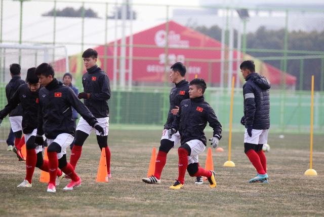 U23 Việt Nam tích cực chuẩn bị trước trận đấu với Australia