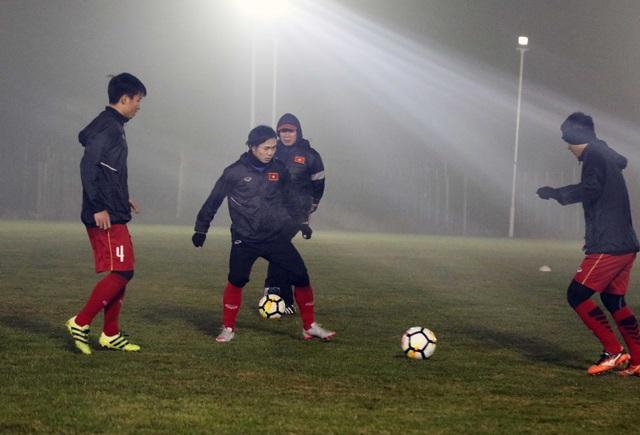 U23 Việt Nam sẵn sàng cho trận đấu với U23 Syria