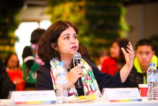 Thạc sĩ Lê Tuệ Minh, Tổng Hiệu trưởng Trường Phổ thông Song ngữ Liên cấp Wellspring